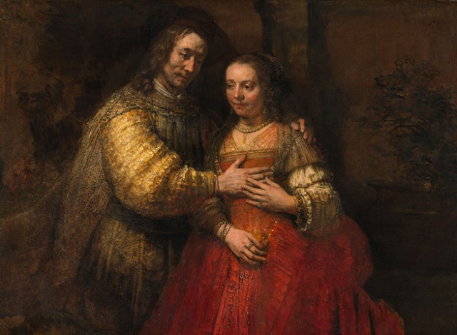The Jewish Bride, 1665 by Rembrandt van Rijn